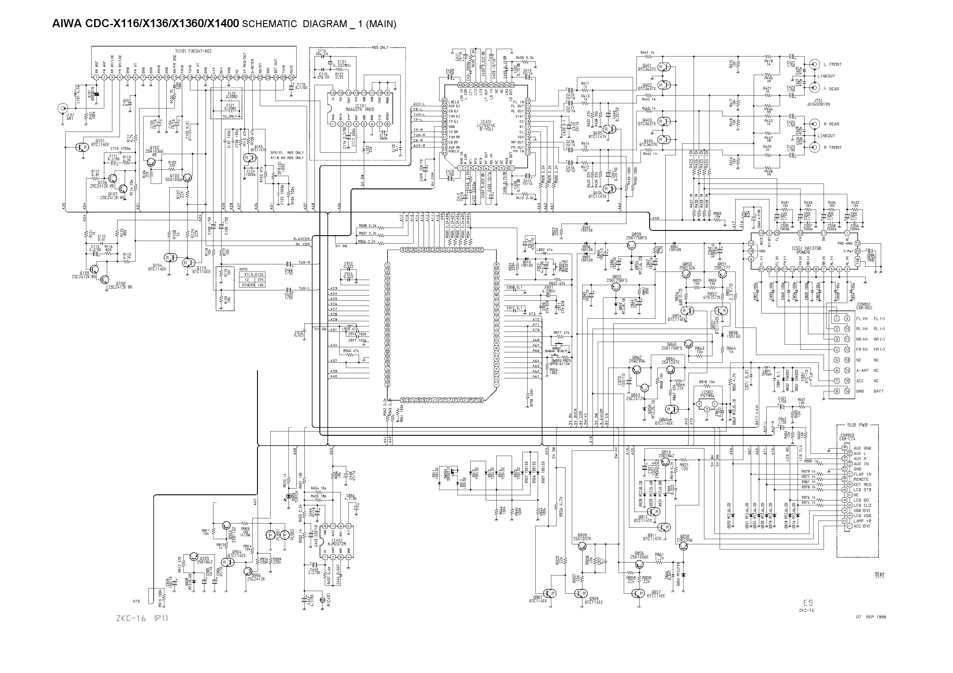 aiwa cdc  front in pdf