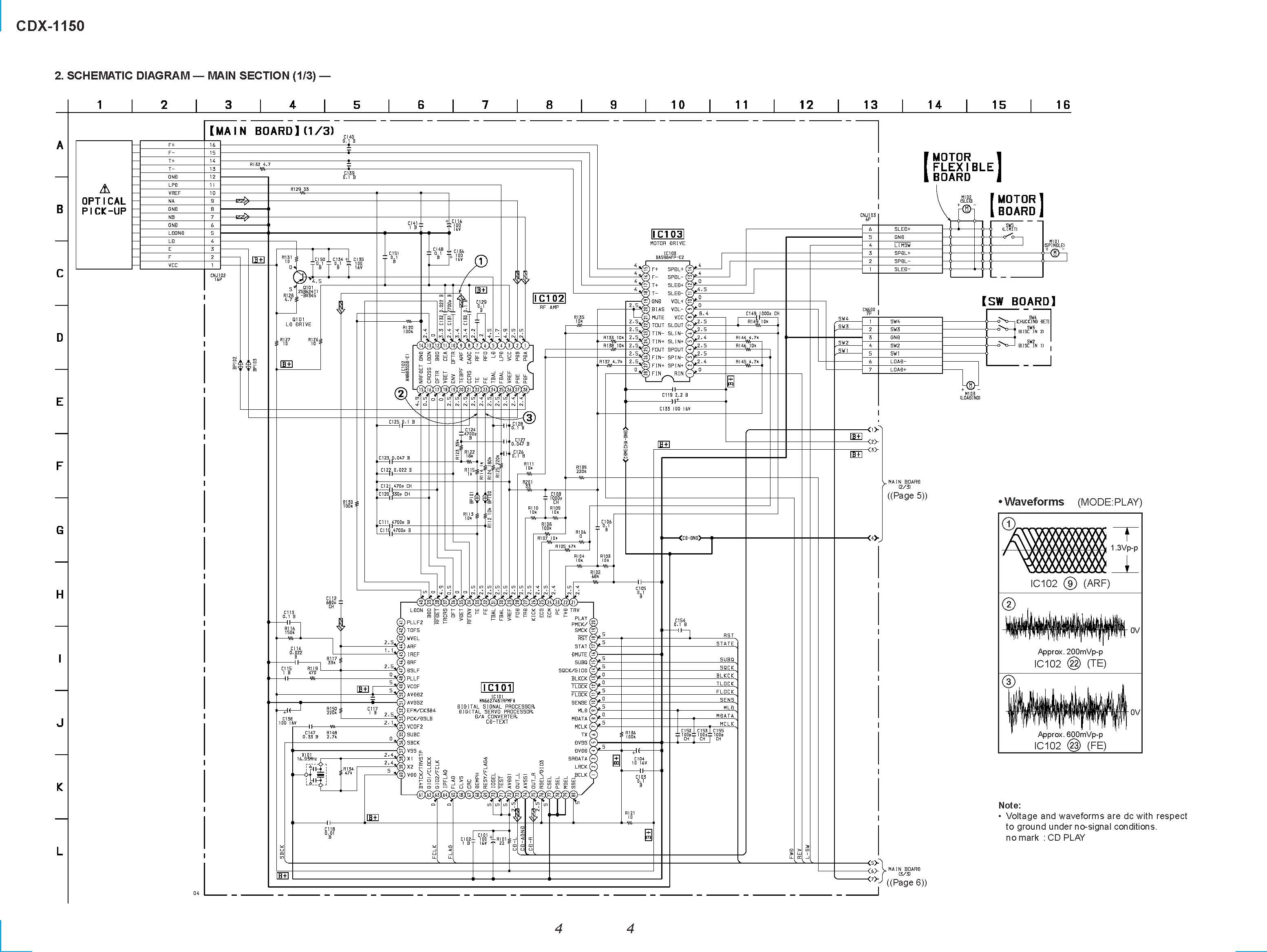 sony cdx  front  in pdf