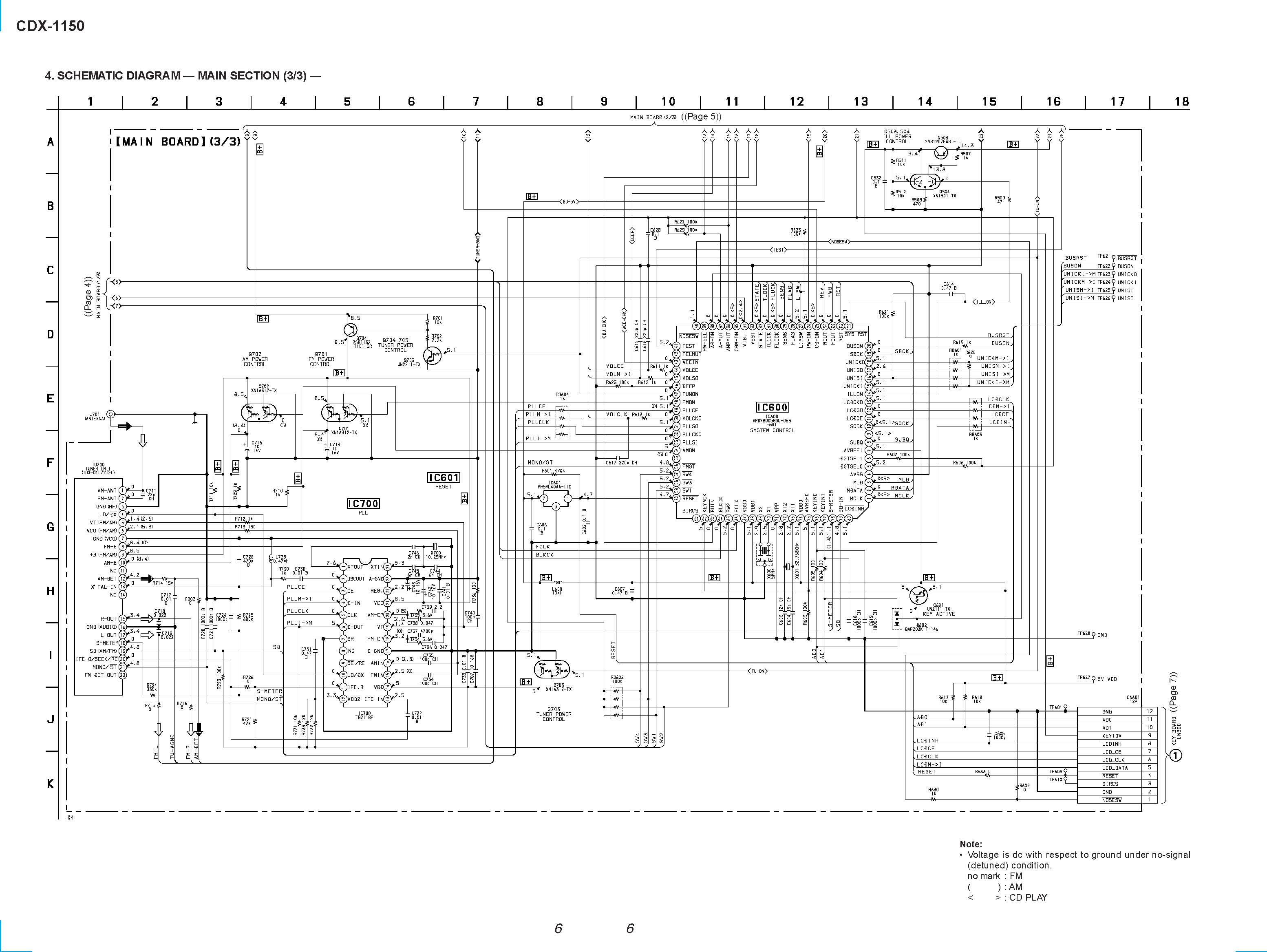 Sony Cdx Gt660Up Wiring Diagram from www.e-servicemanuals.com