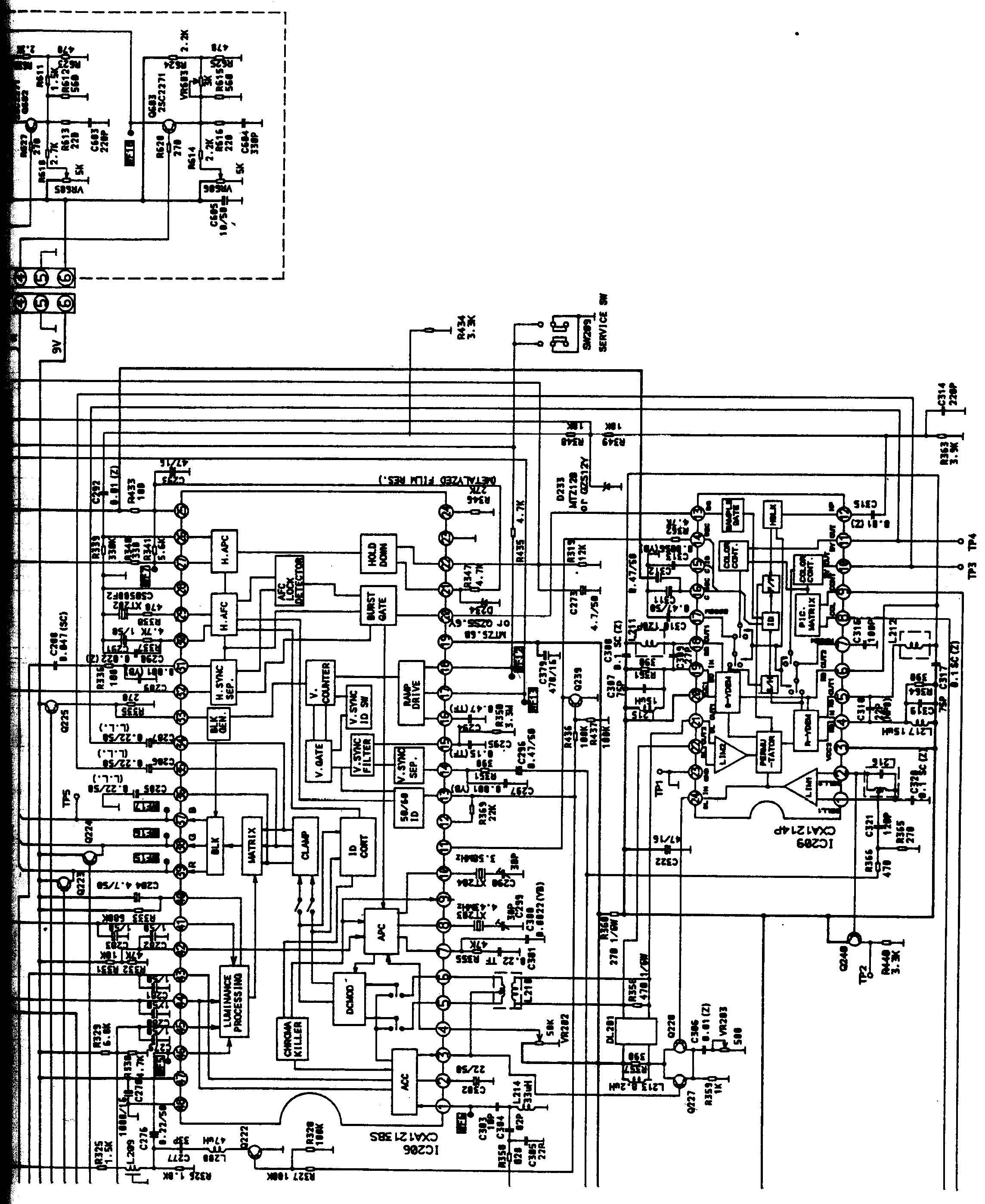 funai 2000 mk 7 schematic diagram in pdf format